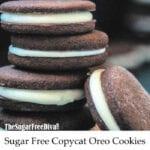 Sugar Free Copycat Oreo Cookies