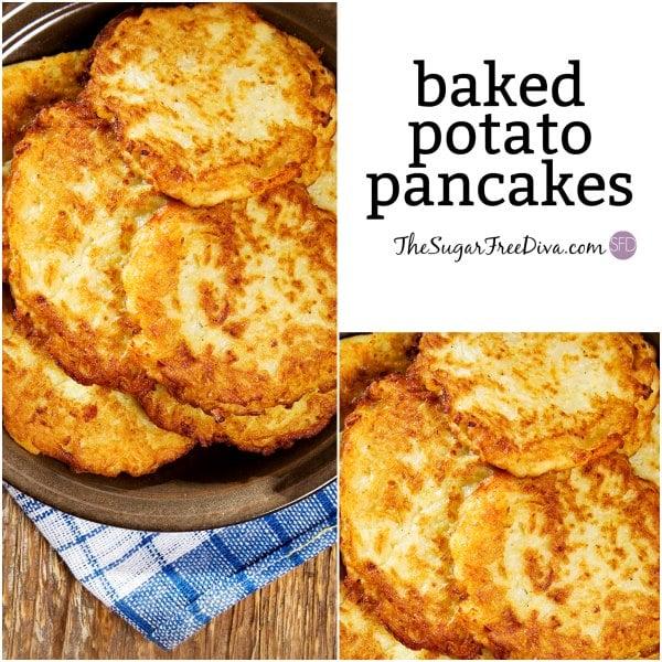 How to Make Baked Potato Pancakes