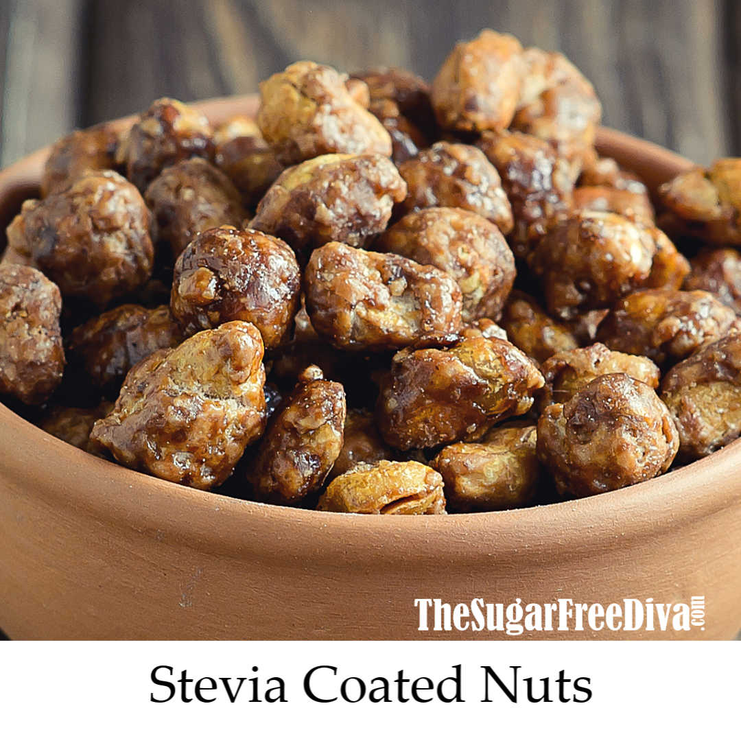 How to Make Stevia Coated Nuts