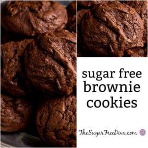 Sugar Free Brownie Cookies