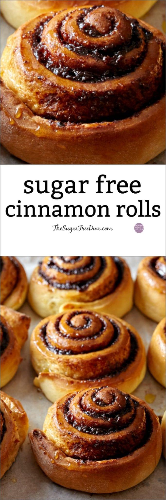 Sugar Free Cinnamon Rolls