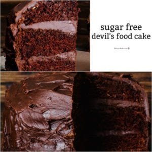 Sugar Free Devil's Food Cake