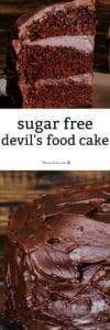Sugar Free Devil's Food Cake