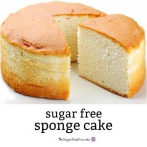 Sugar Free Sponge Cake