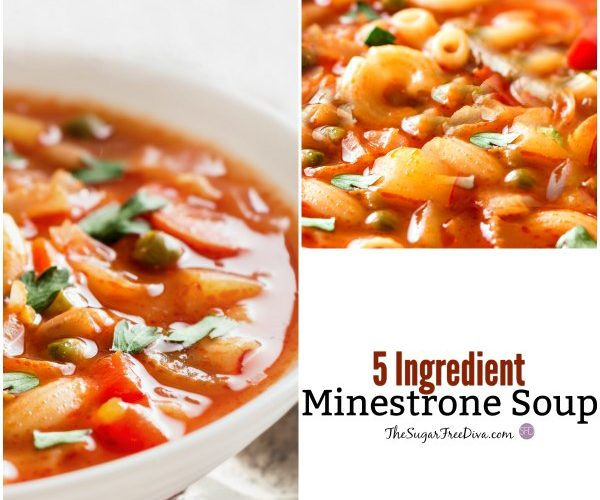 5 Ingredient Minestrone Soup