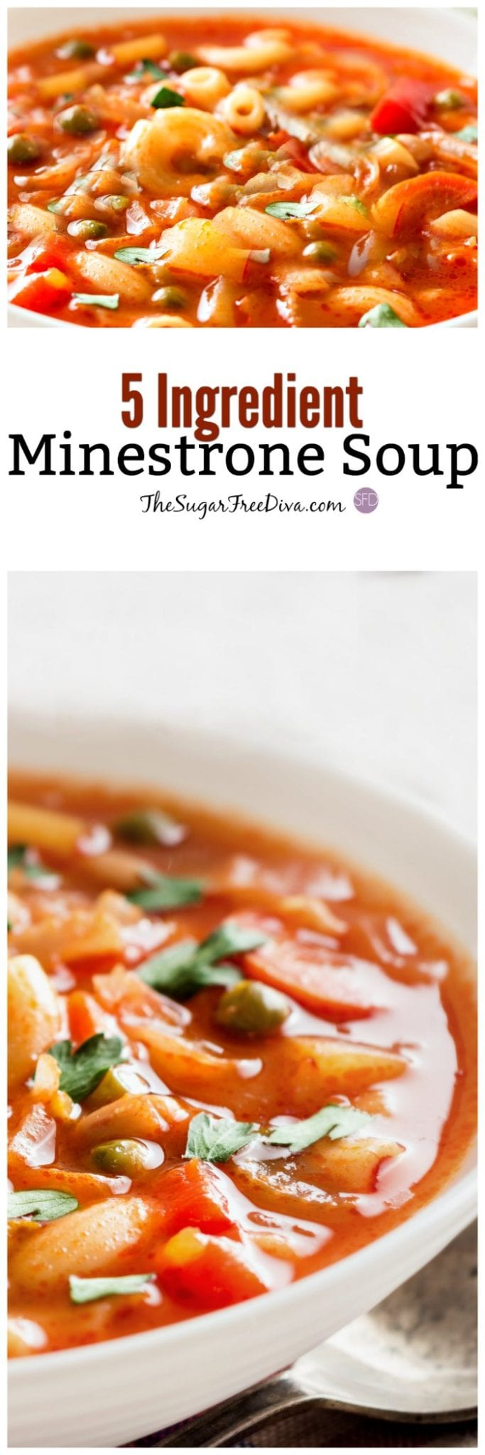 5 Ingredient Minestrone Soup