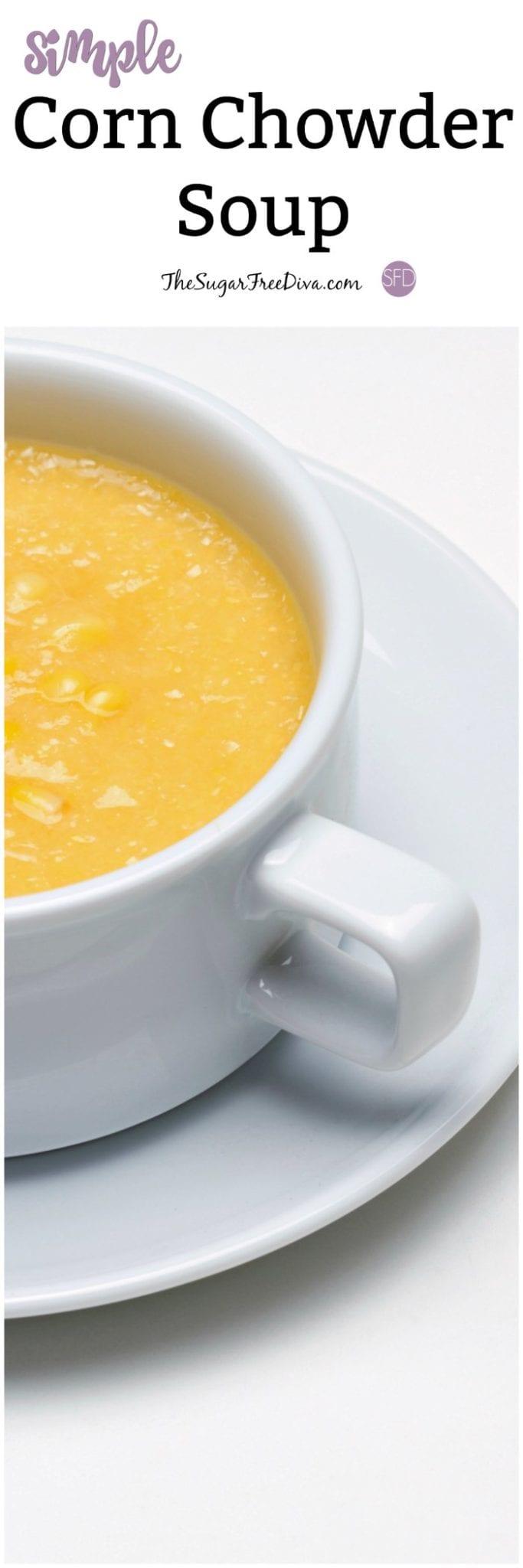 Simple Corn Chowder Soup