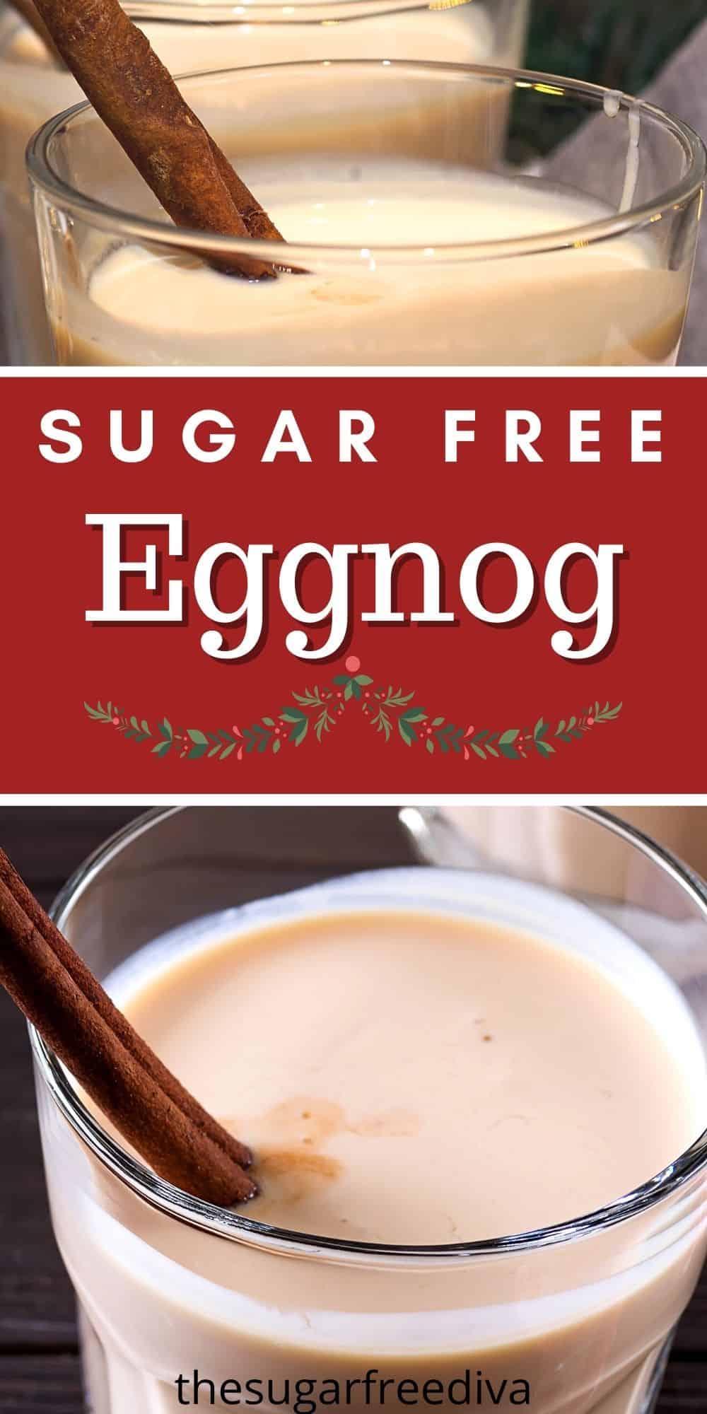 How to Make Sugar Free Eggnog