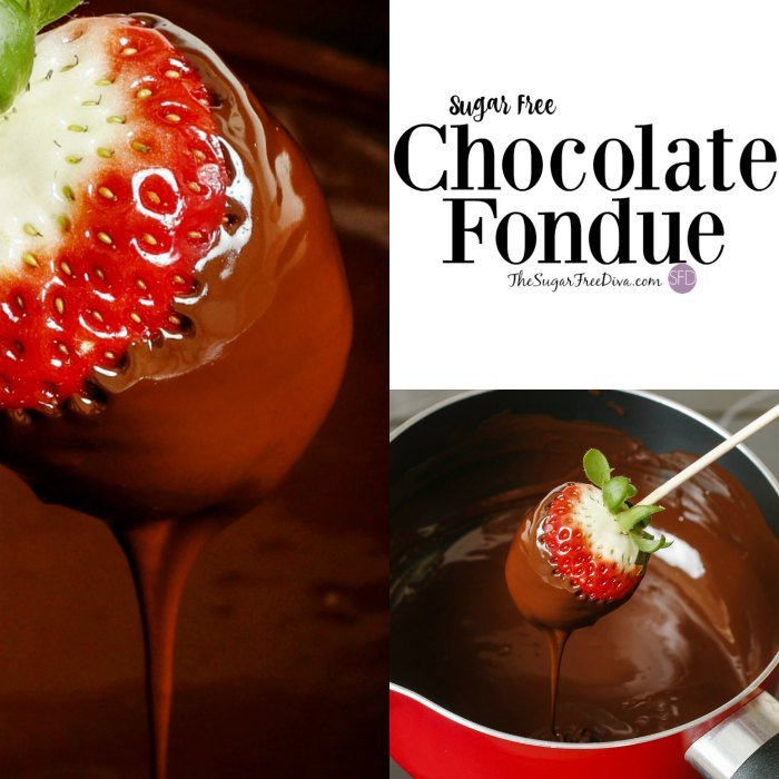 Sugar Free Chocolate Fondue