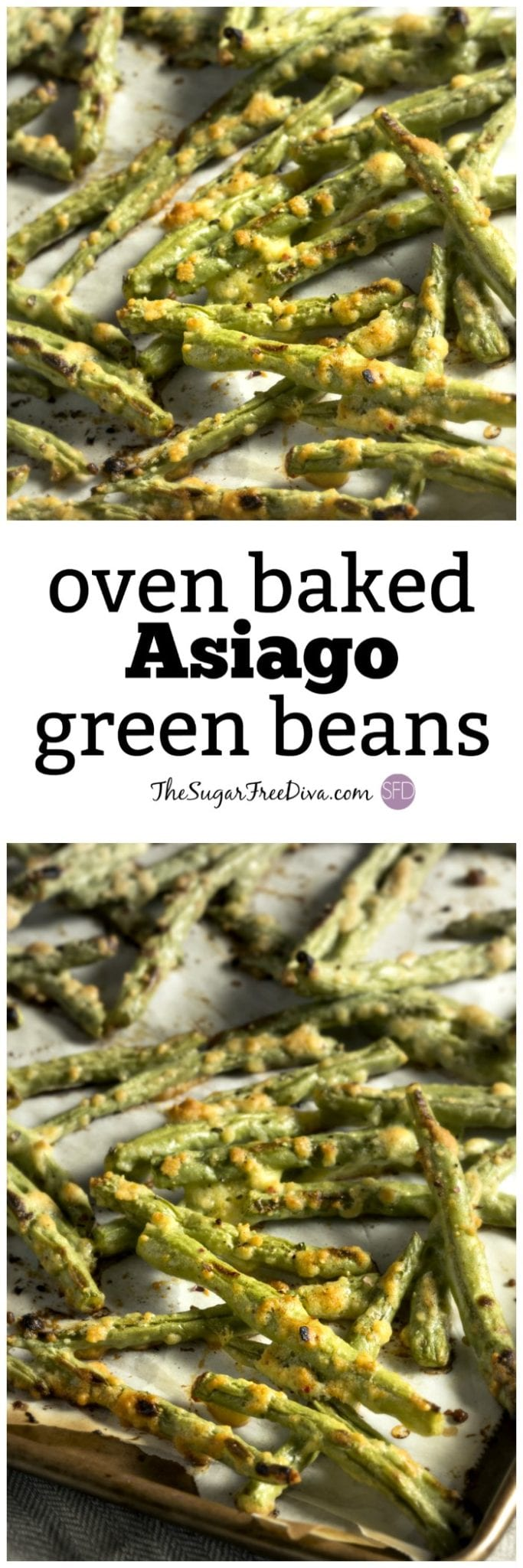 oven baked asiago green beans