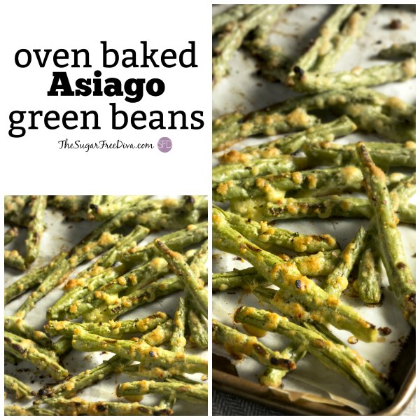 Oven Baked Asiago Green Beans