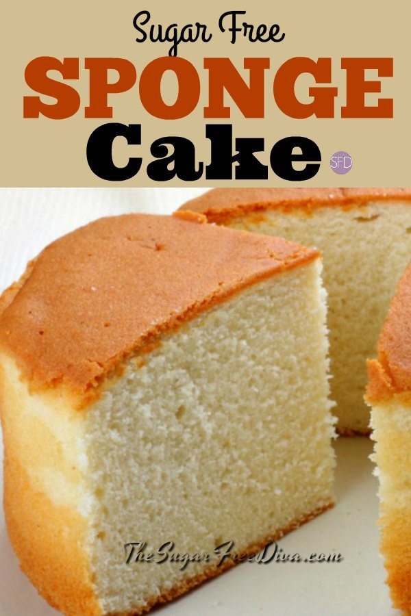 Stupendous How To Make Yummy And Easy Sugar Free Sponge Cake Funny Birthday Cards Online Inifofree Goldxyz