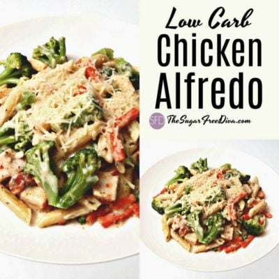 Low Carb Chicken Alfredo