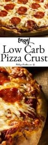 Easy Low Carb Pizza Crust