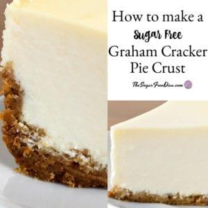How to Make a Sugar Free Graham Cracker Pie Crust