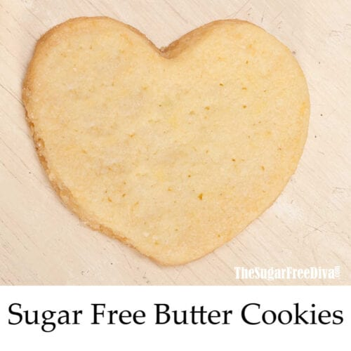 Sugar Free Butter Cookies