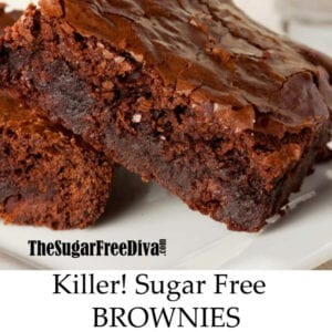 Killer Sugar Free Brownies