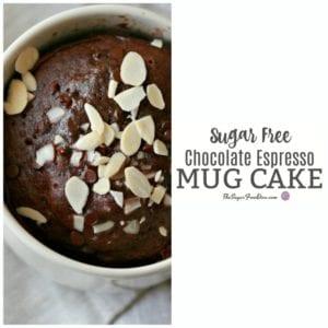 Sugar Free Chocolate Espresso Mug Cake