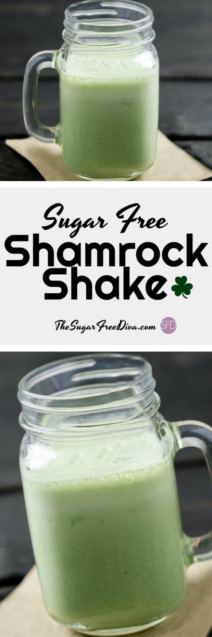 Sugar Free Shamrock Shake