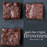 Sugar Free and Vegan Brownies