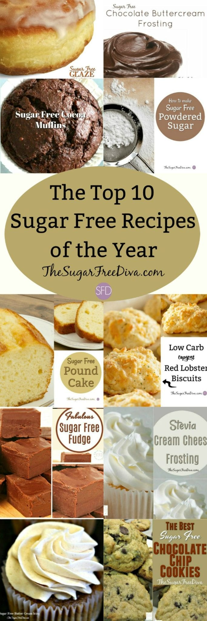 The Top 10 Sugar Free Recipes of the Year