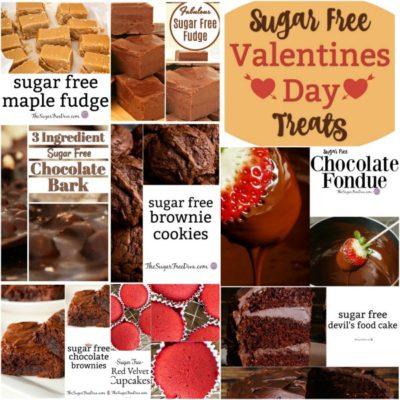 Sugar Free Valentines Day Treats