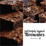 Jack Daniels Inspired Brownies