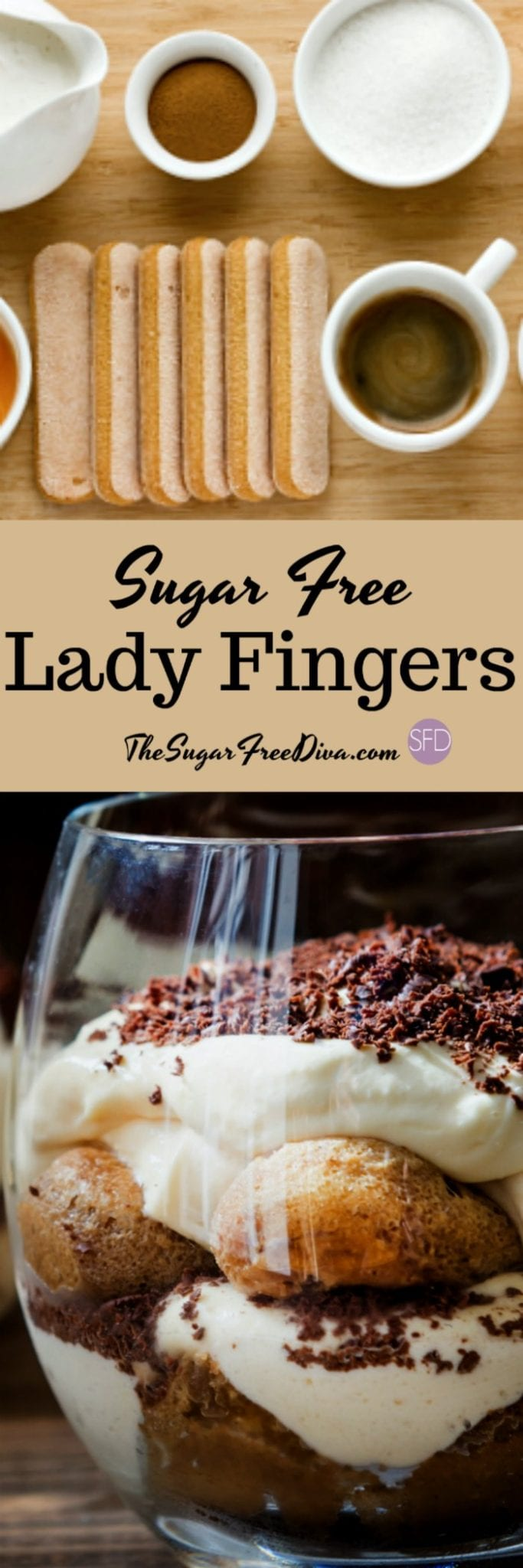 Sugar Free Lady Fingers
