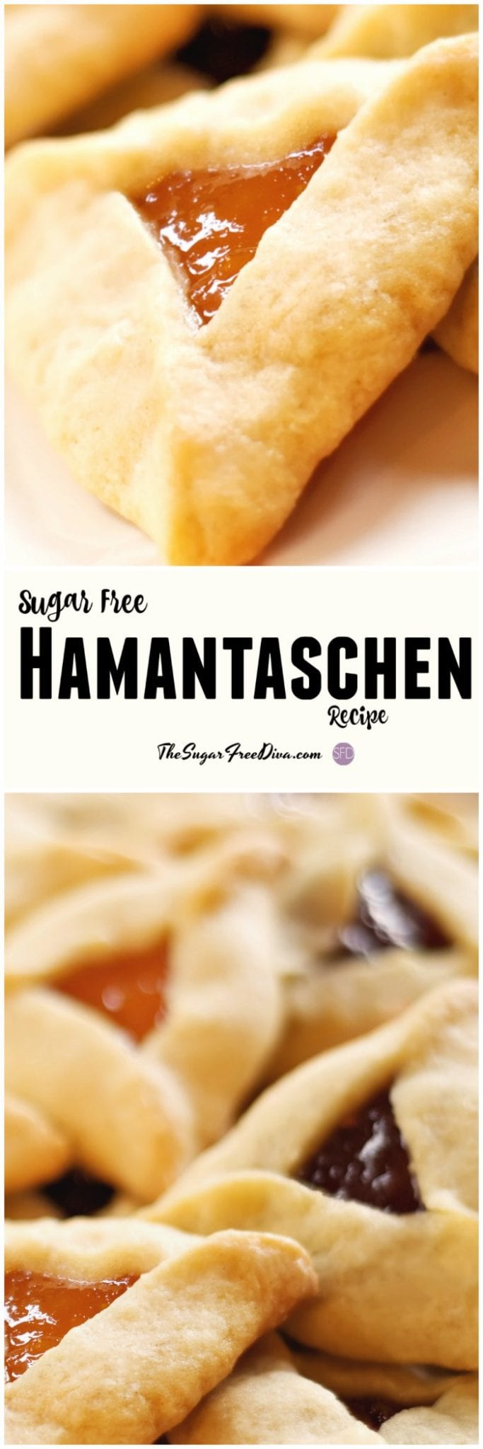 Sugar Free Hamantaschen Recipe