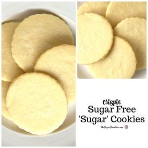 Crispie Sugar Free Sugar Cookies