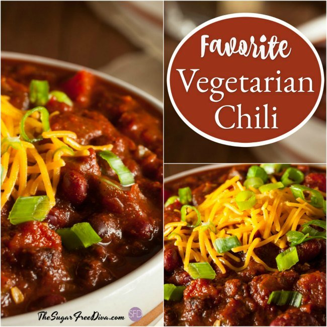 An Easy and Favorite Vegetarian Chili Recipe Idea