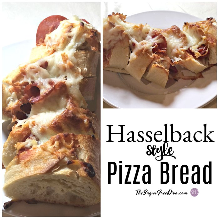 Hasselback Style Pizza Bread