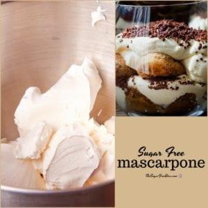 Sugar Free Mascarpone