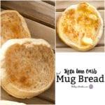 Keto Low Carb Mug Bread
