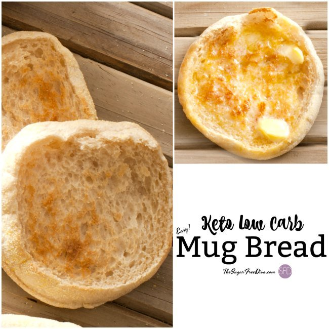 Keto Low Carb Mug Bread.