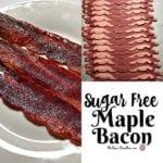 Sugar Free Maple Roasted Turkey Bacon