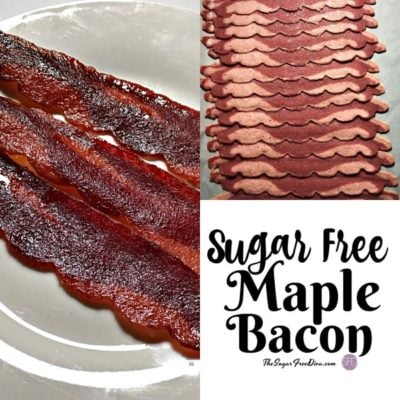 Sugar Free Maple Roasted Turkey Bacon