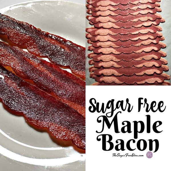 Sugar Free Maple Roasted Bacon