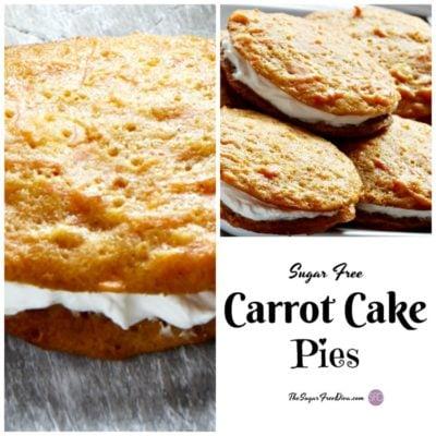 Sugar Free Carrot Cake Pies