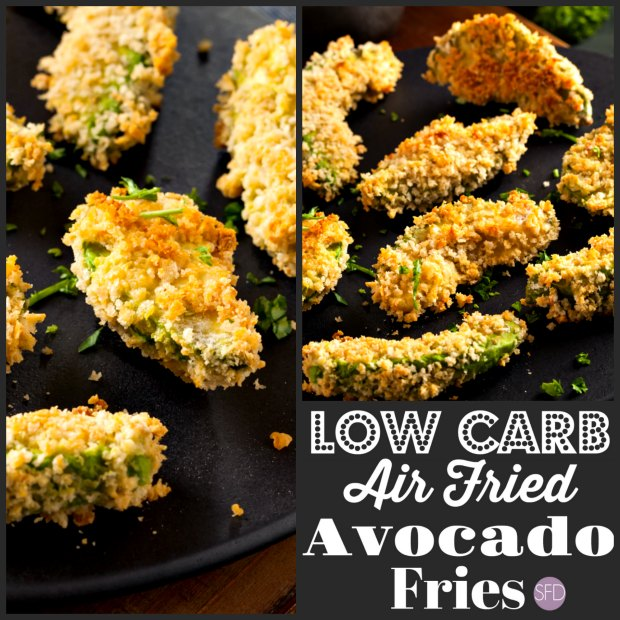 Low Carb Air Fried Avocado Fries