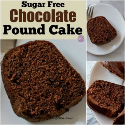 Sugar Free Chocolate Pound Cake