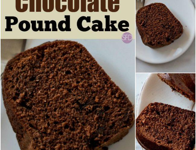 Sugar Free Chocolate Pound Cake