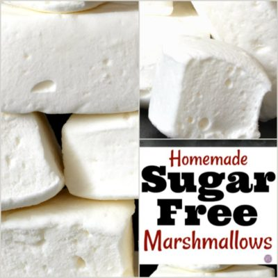 How to Make Sugar Free Marshmallows