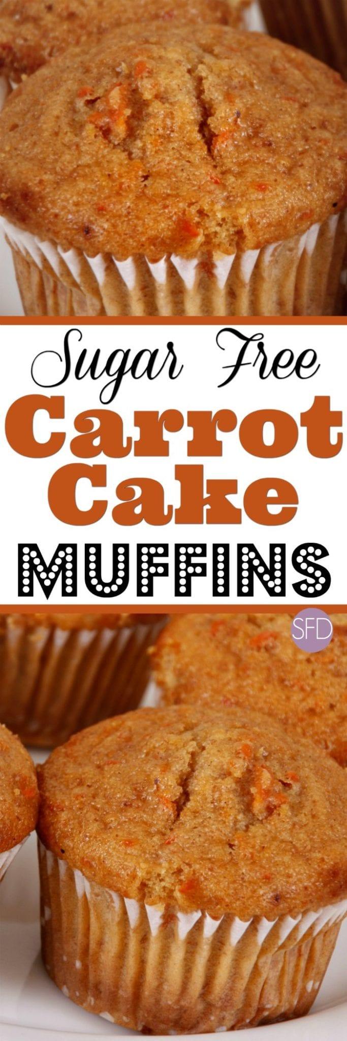 how to make sugar free carrot cake