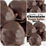 Sugar Free Chocolate Covered Peanut Butter Balls