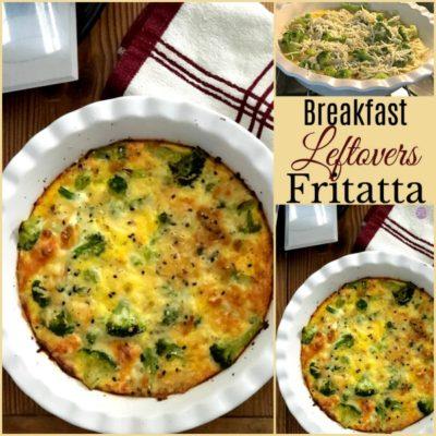 Breakfast Leftovers Fritatta