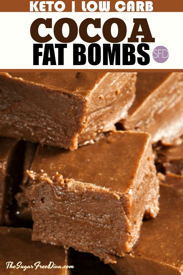 This Is The Best Recipe For Keto Low Carb Cocoa Fat Bombs