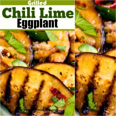 Grilled Chili Lime Eggplant