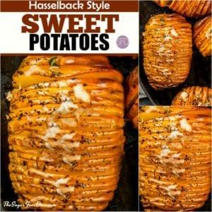 Hasselback Style Sweet Potatoes
