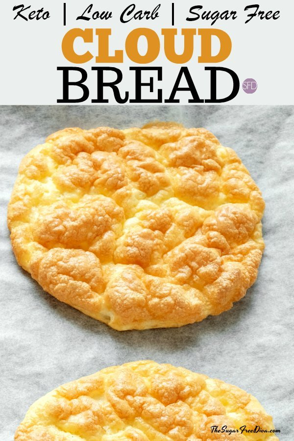 Sugar Free and Keto Cloud Bread